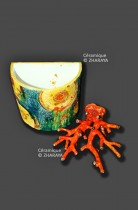 Description: Vase-bateau-&-corail-rouge Auteur: Zharaya