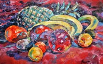 Description: Table-de-fruits-Mango Auteur: ZHARAYA