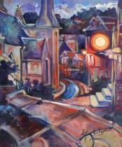 Description: Une Nuit à Veules-les-Roses  Auteur: Eugéniya ZHARAYA