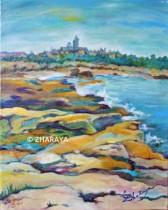 Description: La maree haute à Gatteville Auteur: Eugeniya Zharaya