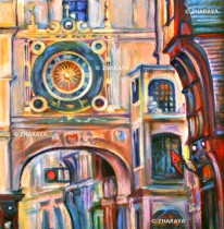 Description: Rue-du-Gros-Horloge-Rouen Auteur: Eugeniya ZHARAYA