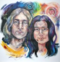 Description: Imagine_John Lennon & Yoko Ono Auteur: Zharaya Eugéniya