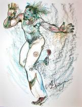 Description: Abib sow danseur-mouvement de Mouette Auteur: Zharaya