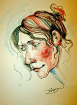 Description: Le-sourire-de-La-Joconde Auteur: Zharaya