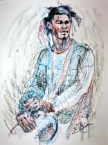 Description: Moussa roi des percutions Auteur: Zharaya