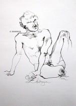Description: Un-homme-assis Auteur: Eugeniya-ZHARAYA