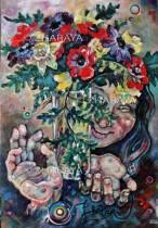 Description: Anémone-Rieuse / Anemone laughing Auteur: Eugéniya ZHARAYA