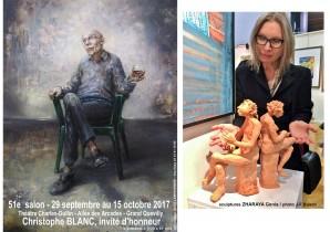 Description: Eugeniya ZHARAYA - Les Siffleurs - terre cuite  Auteur:
